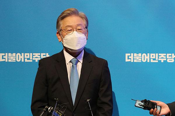 Ли Чжэ Мён закрепил лидерство в борьбе за участие в президентских выборах от правящей партии
