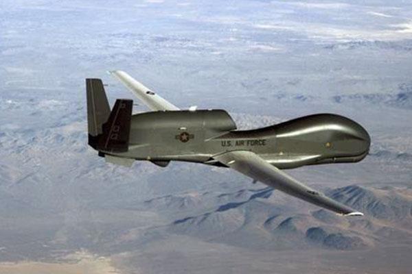 Máy bay không người lái của Mỹ bay trinh sát bán đảo Hàn Quốc