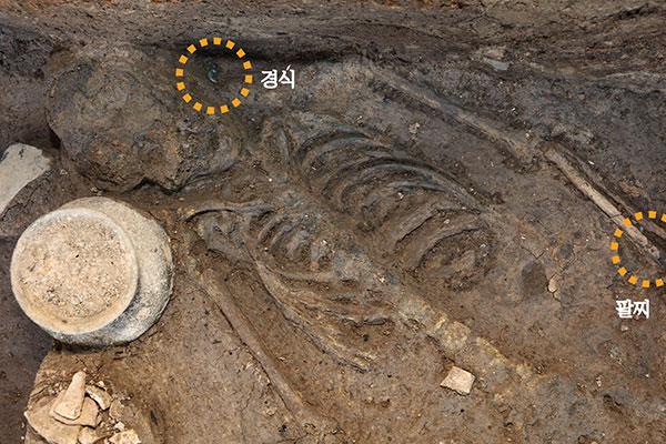 Kerangka Manusia Korban Persembahan pada Abad ke-4 Ditemukan di Isatana Wolseong