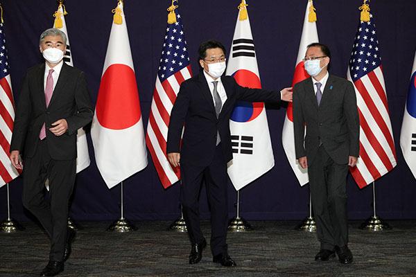 韓日米代表が日本で会談へ