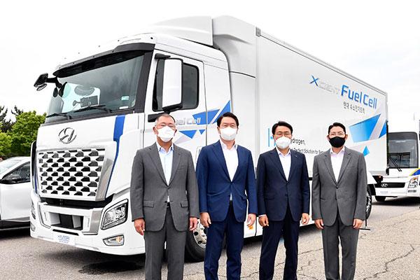 Hyundai Motor : tous les nouveaux modèles de bus et de camions seront électriques et à hydrogène
