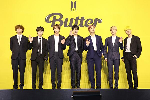 Песня Butter группы BTS вернулась на первое место в Billboard Hot 100