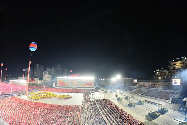 北韩举行政权建立纪念阅兵式 金正恩未发表演讲
