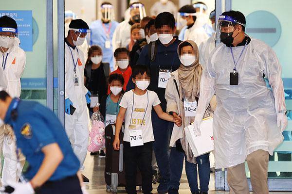 Afghanische Evakuierte bedanken sich in Medieninterview bei Südkorea