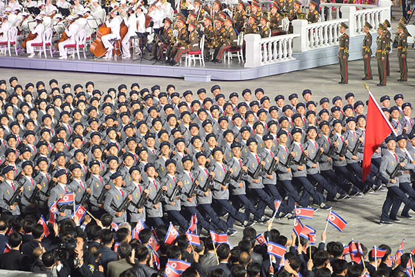 Washington né tránh bình luận trực tiếp về lễ duyệt binh của Bình Nhưỡng