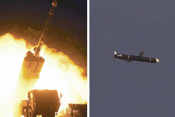 新型長距離巡航ミサイルに成功 北韓