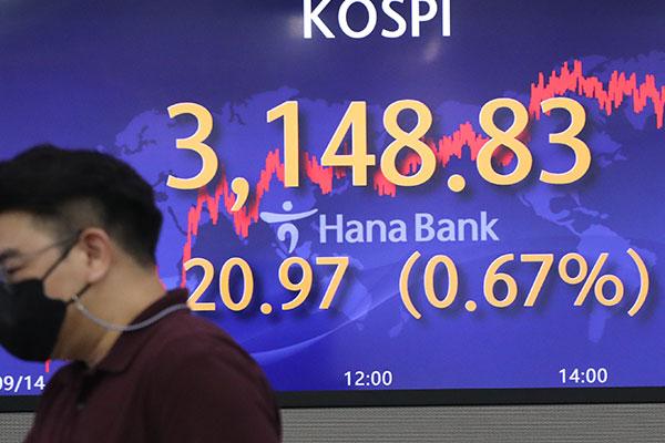 9月14日主要外汇牌价和韩国综合股价指数