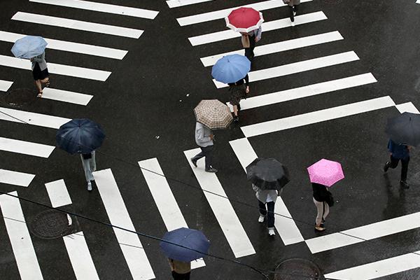 El tifón Chanthu deja fuertes lluvias al sur de Corea