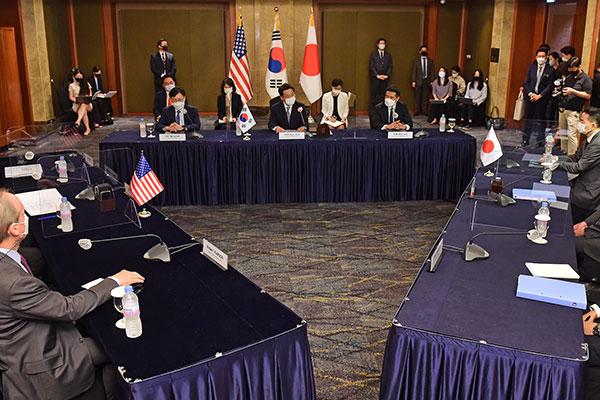 Ketua Juru Runding Nuklir Korsel, AS dan Jepang Gelar Rapat Secara Beruntun