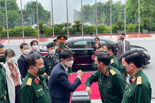Hàn Quốc và Việt Nam tổ chức đối thoại chiến lược quốc phòng 2021