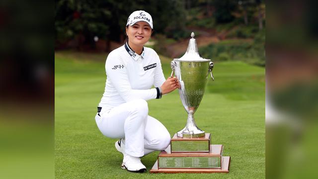 World's No. 2 Ko Jin-young Clenches 2nd LPGA Win of Season