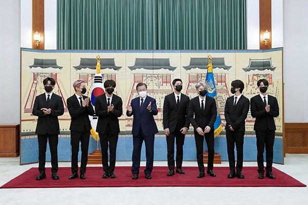 Presiden Moon Berpidato di PBB, BTS Hadiri SDG Moment pada 20 September