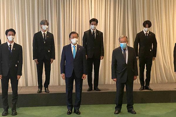 Tổng thống Hàn Quốc kêu gọi hợp tác quốc tế vì hồi phục bao trùm