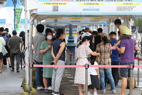 韩首都圈新冠确诊者较上周增12% 18周岁以上确诊者9成为未接种者
