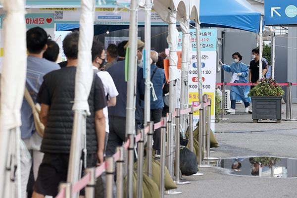 韩新增1716例新冠病例 政府呼吁积极接受病毒检测