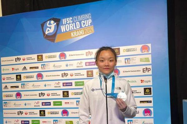 スポーツクライミング女子、ソ・チェヒョン 世界選手権で金メダル