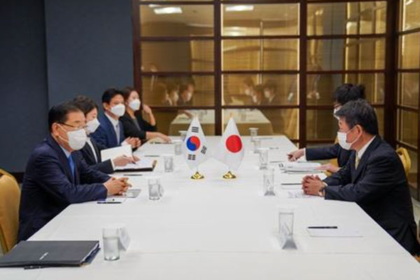 Les ministres sud-coréen et japonais des Affaires étrangères s'entretiennent à l'Onu