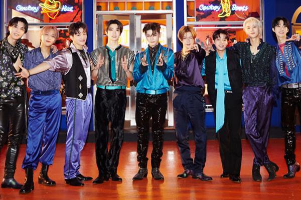 NCT127の新アルバム「Sticker」 オリコンランキング1位