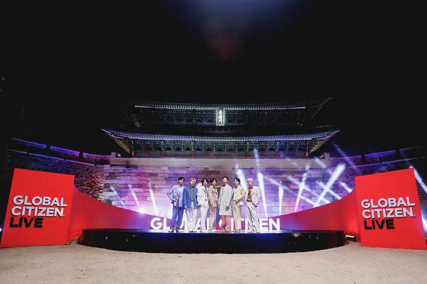 BTS Kicks off Global Citizen Live