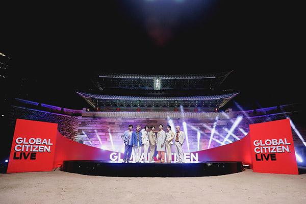 Stars wie BTS werben bei Global Citizen Live für Impfgerechtigkeit