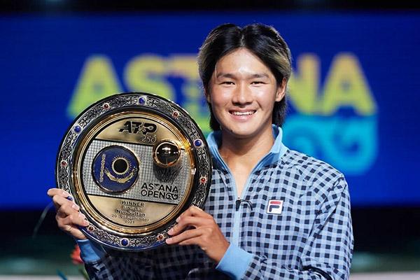 Kwon Soon-woo Raih Kemenangan Pertama di Kejuaraan Tenis ATP