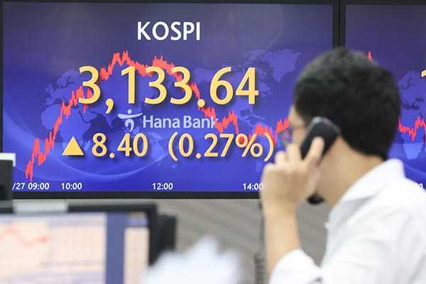 Börse in Seoul klettert um 0,27 Prozent
