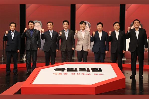 韩最大在野党下届总统有力候选人谴责李在明城南大庄洞疑云