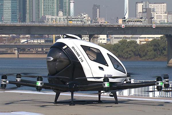 В 2025 году в Сеуле появятся «воздушные такси»