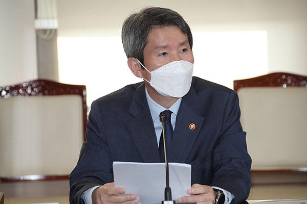 韩统一部长官李仁荣将巡访欧洲