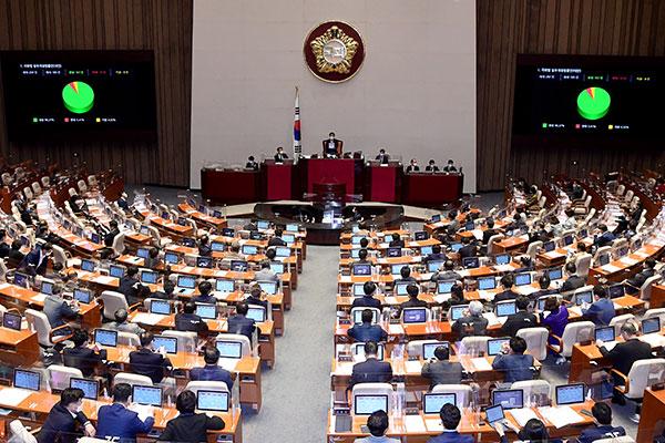 UU Pembangunan Gedung Kedua Majelis Nasional di Kota Sejong Diloloskan