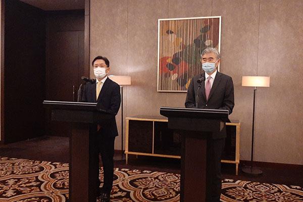 """Sung Kim: """"EEUU no esgrime una política hostil contra Pyongyang"""""""
