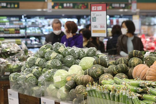 Giá tiêu dùng tháng 9 của Hàn Quốc tăng 2,5%