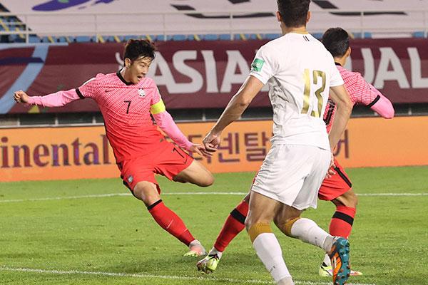 Son Heung Min firma pase de Corea hacia Mundial 2022 contra Siria