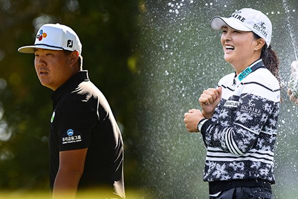 Golfistas coreanos ganan simultáneamente en PGA y LPGA