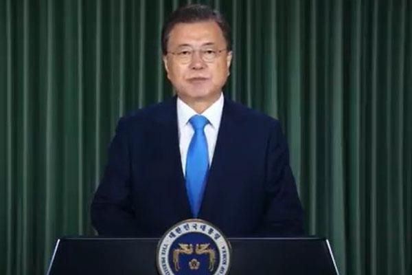 Afghanistan : Moon Jae-in souligne les enjeux humanitaires au sommet virtuel du G20