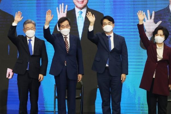 李在明氏、他の与党候補の支持率吸収できず KBS世論調査