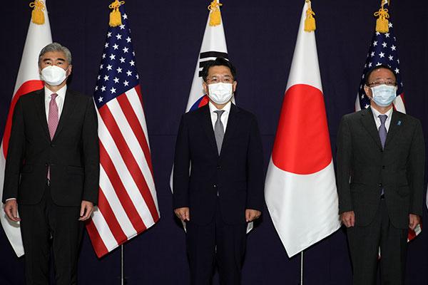 韩美日北核问题首席代表下周在华盛顿会晤