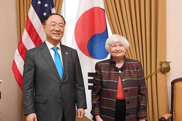 韩副总理向美财长转达韩企对美要求提供半导体信息的忧虑