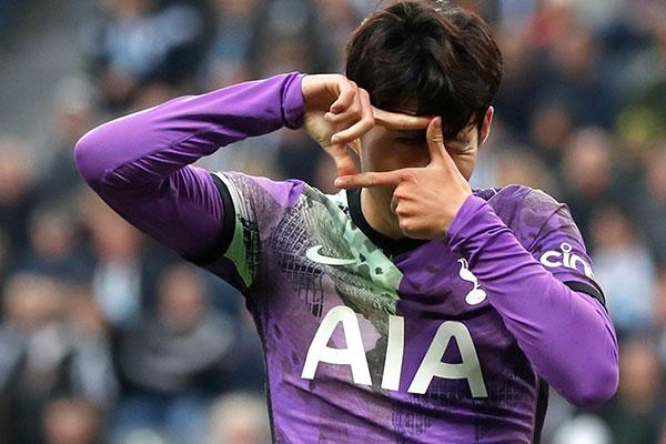 ソン・フンミン、4ゴール目 欧州サッカー韓国勢が揃って得点