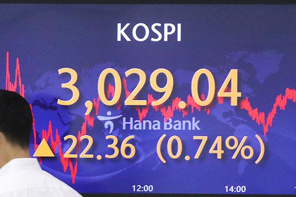 Mejoran tanto el KOSPI como el KOSDAQ