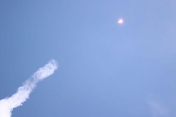 Weltraumrakete Nuri um 17 Uhr gestartet