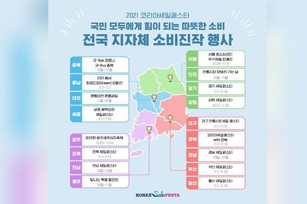 La Fiesta de las Rebajas de Corea arranca en noviembre