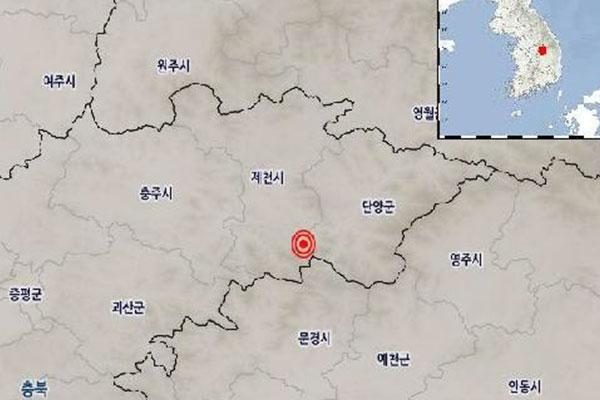زلزال بشدة 2.4 درجة يضرب جيه تشون