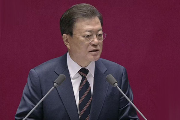 Präsident Moon verspricht Einsatz für Krisenbewältigung bis zum Ende der Amtszeit