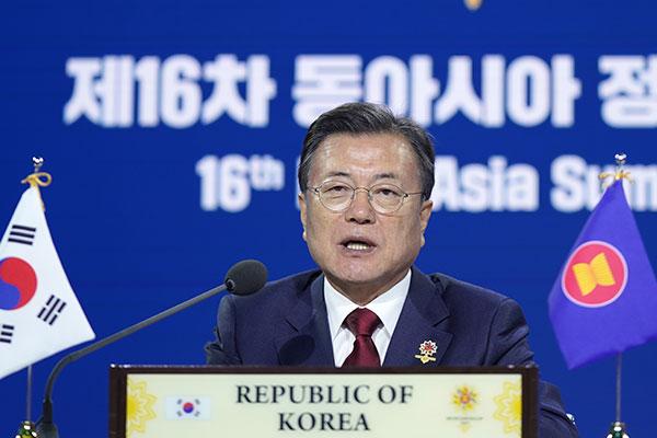 Tổng thống Hàn Quốc kêu gọi thế giới ủng hộ tuyên bố chấm dứt chiến tranh Triều Tiên