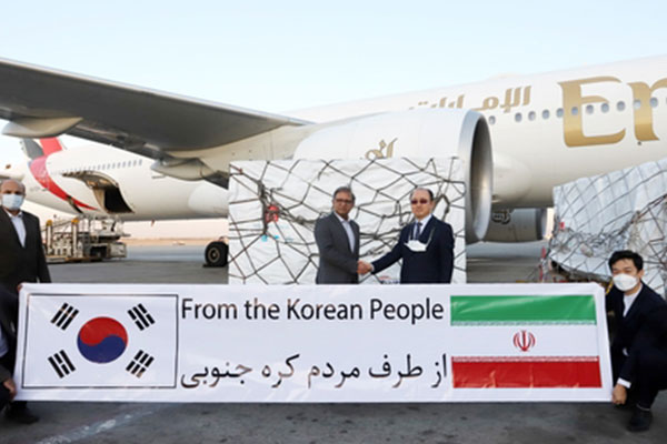 Seoul tặng 1 triệu liều vắc-xin AstraZeneca cho Tehran