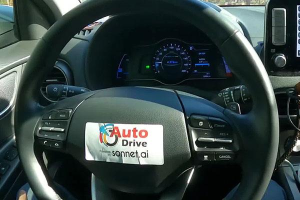 Беспилотному автомобилю из РК присвоен четвёртый уровень автономности