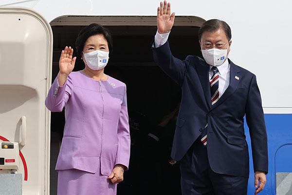 Tổng thống Moon Jae-in bắt đầu chuyến công du châu Âu dài 9 ngày