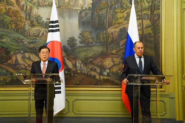 РК и Россия будут сотрудничать для возобновления мирного процесса на Корейском полуострове