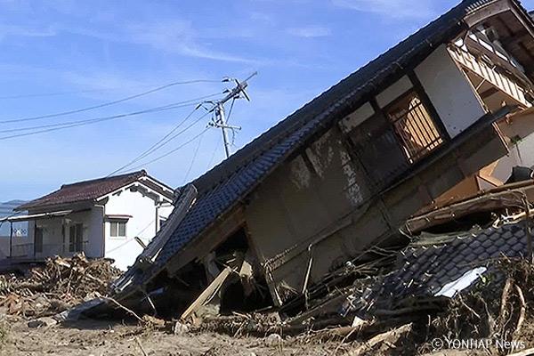 Steigende Opferzahl nach Unwetter in Japan